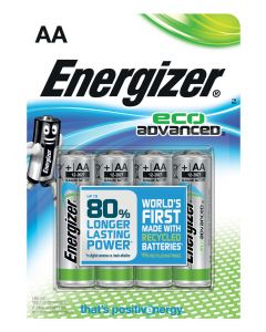 Energizer ECO advanced AA LR6 4 stk