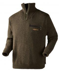Härkila Annaboda sweater windstopper brun