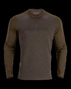 Härkila Metso langærmet t-shirt Willow green