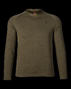 Seeland Active L/S T-shirt Pine green