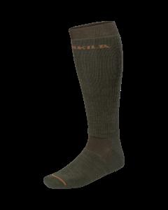 Härkila Pro Hunter 2.0 long socks Willow green/Shadow brown