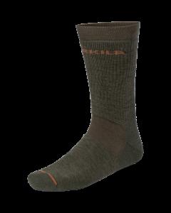 Härkila Pro Hunter 2.0 korte sokker Willow green/Shadow brown