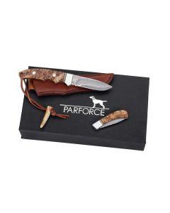 Parforce Damask knivsæt i gaveæske