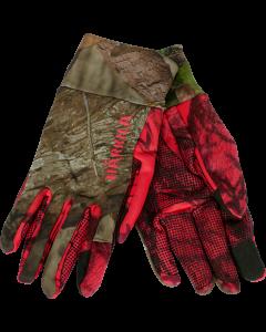 Härkila Moose Hunter 2.0 fleece handsker MossyOak®Break-Up  Country®/MossyOak®Red
