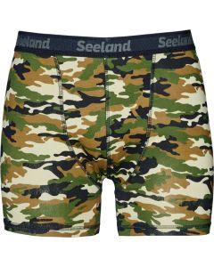 Seeland 2-pak boxer shorts Camo/Forest night