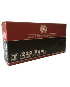RWS 222 Rem 3,24 gram Teilmantel