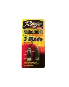 Rage ekstra blade pakke med 9 stk