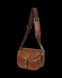 Härkila - Retrieve patrontaske, læder t/125 patroner
