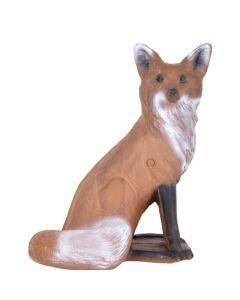 Longlife 3D siddende ræv