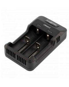 Ansmann Batterioplader til 18650 batteri