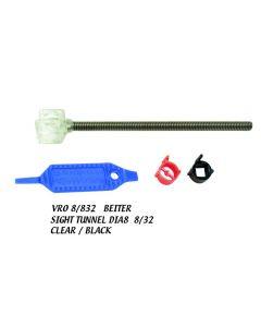 Beiter sigtenål 12 mm 10/32 Clear