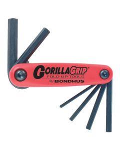 Bondhus Gorilla grip unbraco 1,5 - 6 mm metric