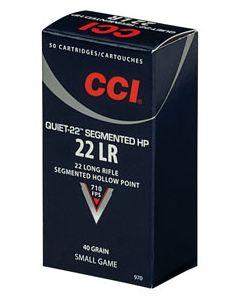 CCI 22Lr Segmentet HP quiet 50 stk 40 grains