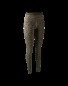 Deerhunter Lady Insulated Leggings Brown Melange