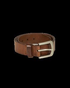 Deerhunter Læderbælte, 4 cm bredt Cognac Brown