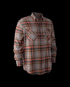 Deerhunter Marvin Skjorte Orange Check