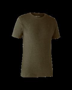 Deerhunter Basis 2-pak T-shirt Adventure Green Melange