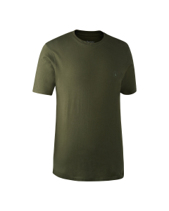 Deerhunter T-Shirt 2 pak Green/Brown Leaf