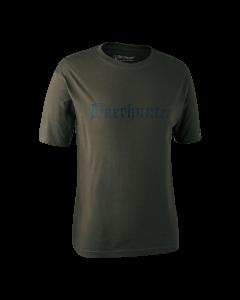 Deerhunter Logo T-Shirt Bark Green