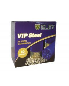Eley VIP steel flugtskydningspatroner kal. 12 str. 9 24 gram