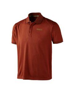 Härkila - Gerit polo shirt Burnt orange
