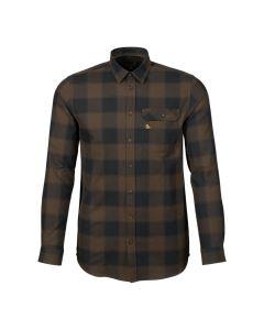 seeland - Highseat skjorte Hunter brun