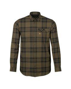 Seeland - Highseat skjorte Hunter grøn