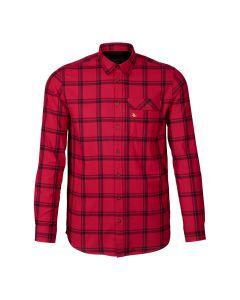 seeland - Highseat skjorte Hunter red