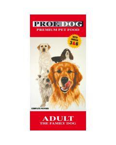 Prof.dog adult familiehunden incl.fragt til pakkeshop