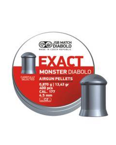 JSB Exact monster 4,52 mm 0,870 gram