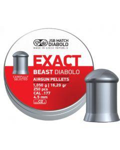 JSB Exact Beast 4,5 mm 250 stk