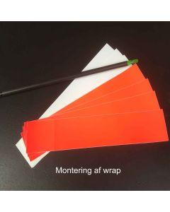 Montering af wraps