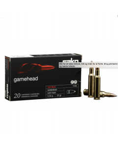 Sako 222 rem Gamehead  3,2 gram 20 stk
