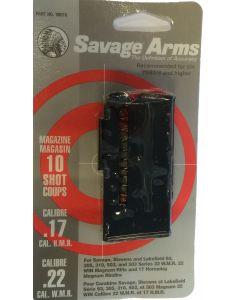 Ekstra magasin til Savage 93 10 skuds Kal 17 hmr eller 22 wmr