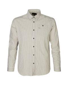 Seeland - Newark skjorte Pine green check