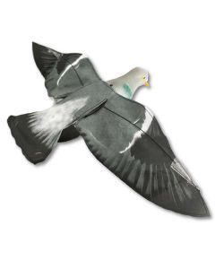 Sillosocks lokkedue med udbredte vinger Hypa Flap
