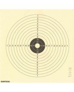 Skydeskiver 14x14 cm 1-12 point