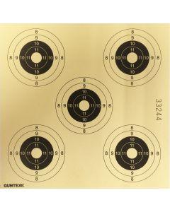Skydeskiver 14x14 cm 5 plet