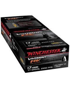 Winchester V Max 17 grains  17 hmr 50 stk