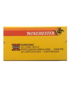 Winchester 22 LR Subsonic hollowpoint (skal afhentes i butikken)