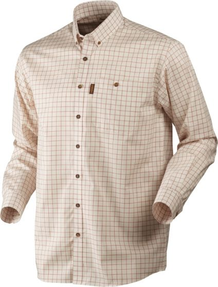 Härkila Stenstorp strygefri skjorte Burnt orange check
