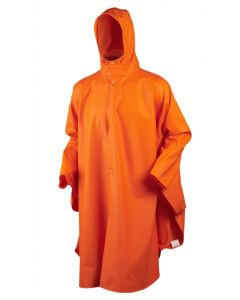 Seeland Rainy poncho orange one size