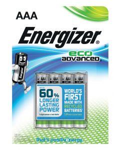 Energizer ECO advanced AAA LR3 4 stk