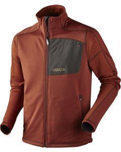 Härkila Svarin jakke i stretch fleece - orange