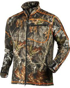 Härkila Skoll fleece jakke i Mossy Oak® New Break-Up