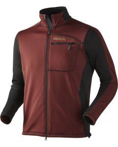Härkila Vestmar fleece jakke syrah red (KUN I SMALL)