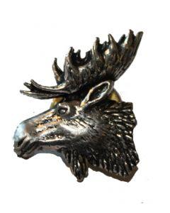 Hattenål m/motiv elg hoved