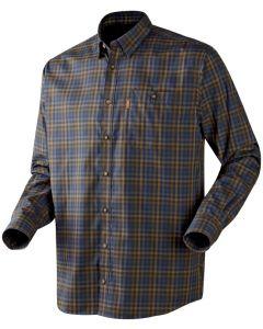 Härkila Milford skjorte brun/blå tern