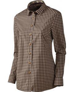 Härkila Selja skjorte bright port check