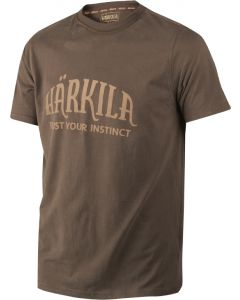 Härkila T-shirt slate brown